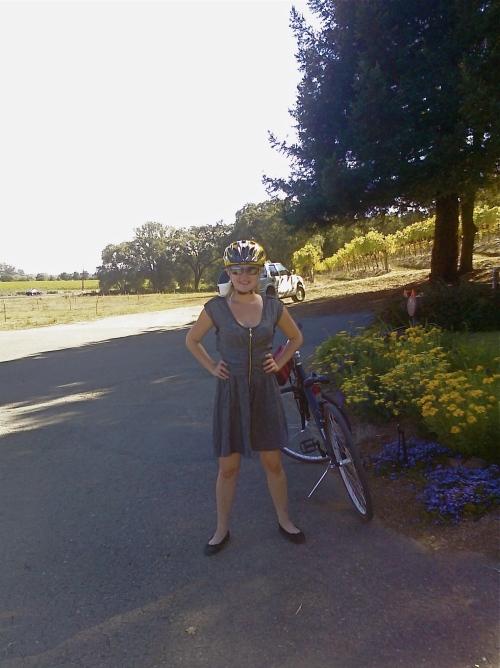Biking in Sonoma